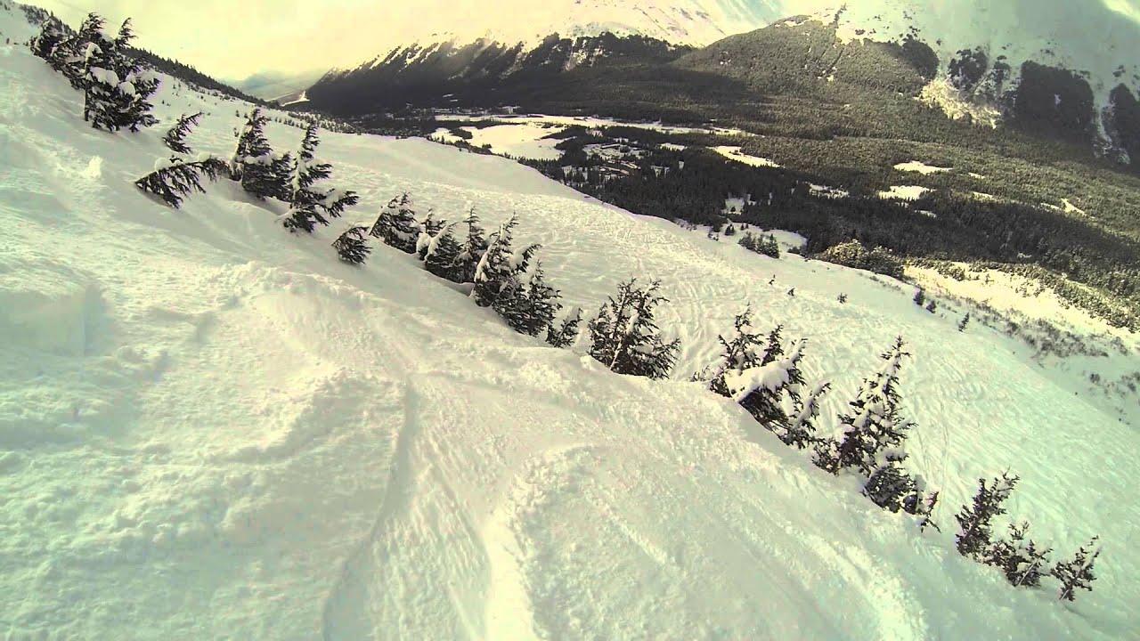 Ski Alyeska, Christmas Chute, 9 avril