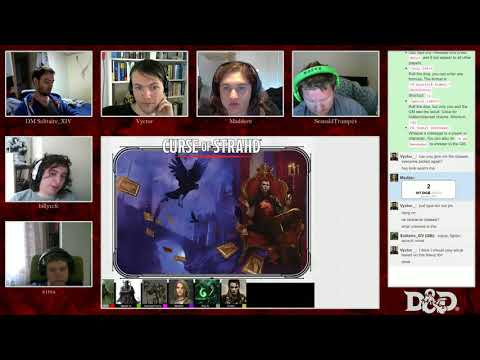 D&D 5e! Curse of Strahd, Session 0+1