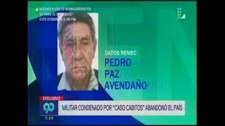 TV 2 MILITAR CASO CABITOS SALE DEL PAIS
