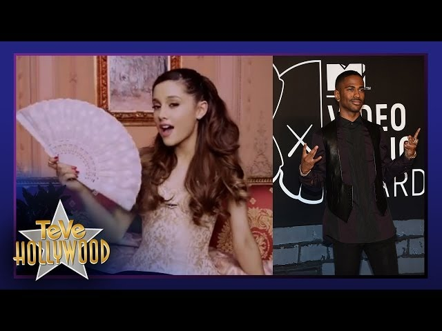 Ariana Grande BESA Otro en Video