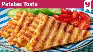 Dört Malzemeyle Yapılabilecek En Pratik Tarif: Patates Tostu Tarifi - Pratik Tarifler | Yemek.com