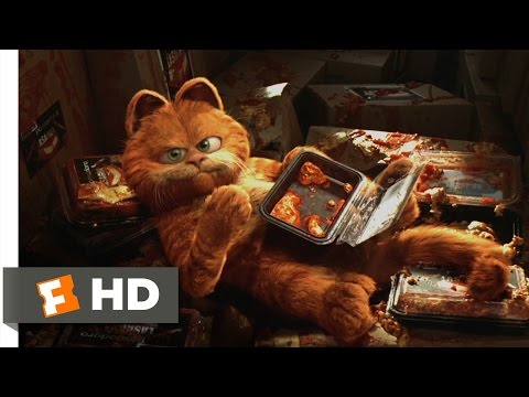 Garfield (5/5) Movie CLIP - Saved by Lasagna (2004) HD