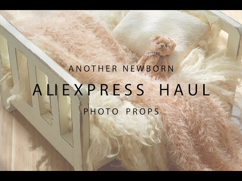 Another Newborn ALIEXPRESS Haul | Super Affordable Newborn Photographer Props | VLOG 25