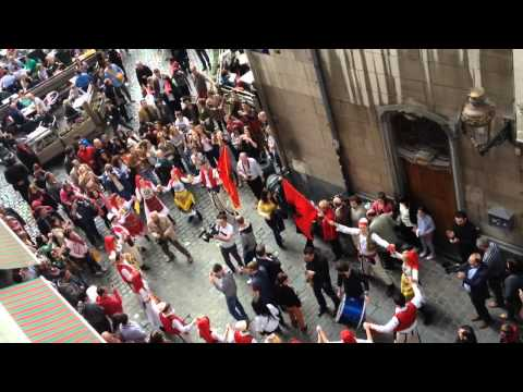 Balkan Trafic (Albanian Dance - Brussels Grande Place)