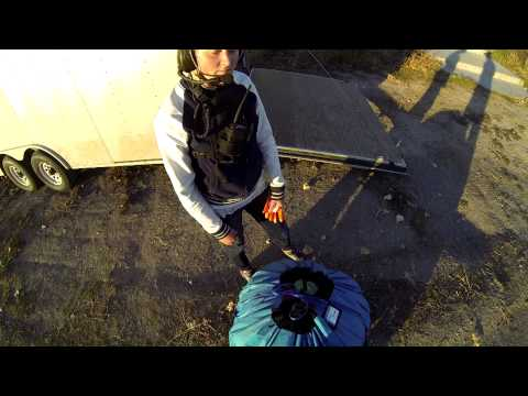 Paramotor 17 Year Old Girl!!! Powered Paragliding Girl Shows How Easy With Best Gear!!!