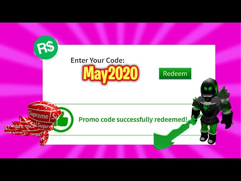 ⭐️*MAY 2020* ALL WORKING PROMO CODES IN ROBLOX!