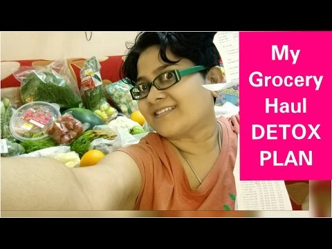 Detox GROCERY HAUL, हरी सब्जियों के साथ, Detox Plan for Weight Loss, Preparation for my DETOX Plan,