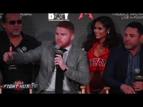 Canelo fires back at Golovkin fan! Says he'd tell GGG to go F*ck himself