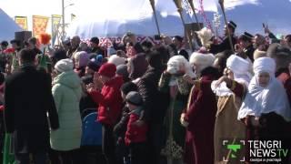Назарбаев посетил этно-аул в Астане