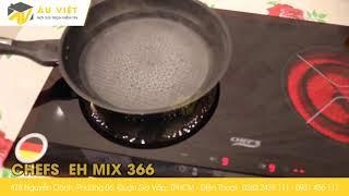 Bếp Điện Từ Âm  CHEFS - EH - MIX - 366  ( Đức)
