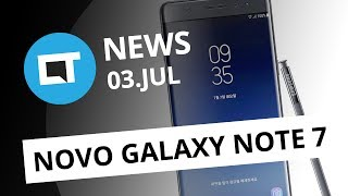 Galaxy Note 7 ressurge das cinzas com novo nome; Novos Moto Snaps e+ [CT News]