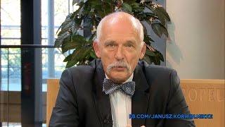 #18 Janusz Korwin-Mikke o teorii ekonomii - bariery handlowe, TTIP, CETA