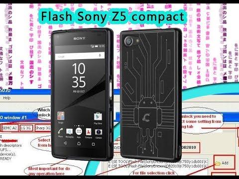 Flash Sony Xperia Z5 Compact (E5823) Latest Software with Setool-box |  Selekt