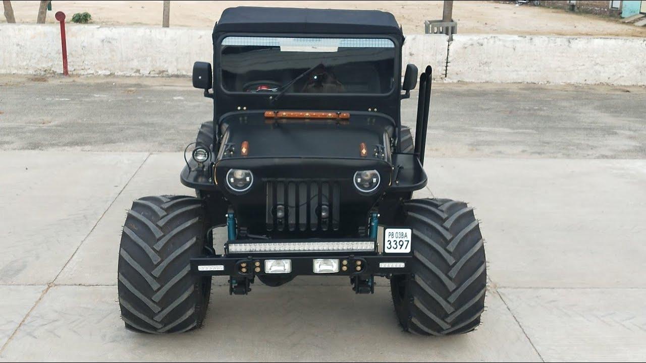 Kulwinder Motors 9781265812 Super Modified Jeep 4x4 Ac Model