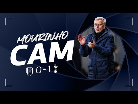 Listen to Mourinho on the touchline during Fulham win! MOURINHO CAM | FULHAM 0-1 SPURS