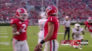Justin Fields vs. UMass 2018