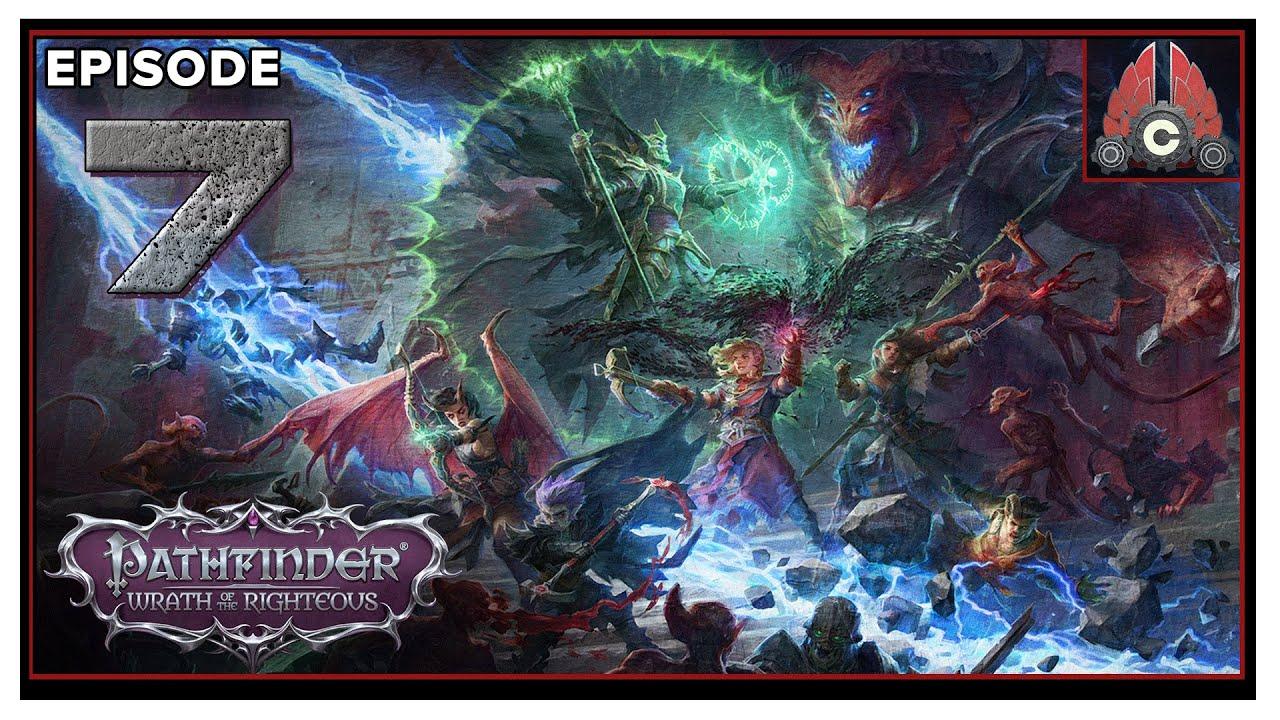 CohhCarnage Plays Pathfinder: Wrath Of The Righteous (Aasimer Deliverer/Hard) - Episode 7