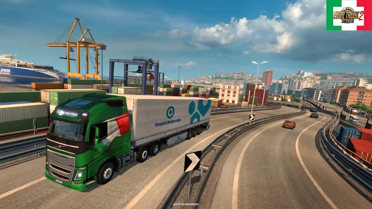 Hasil gambar untuk euro truck simulator 2 italia ful dlc
