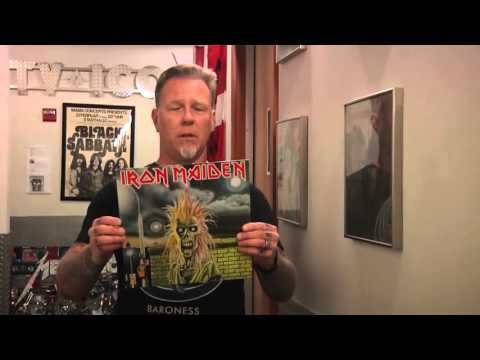 James Hetfield record store day