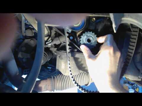 Авео - неправильная замена ремня грм убивает двигатель