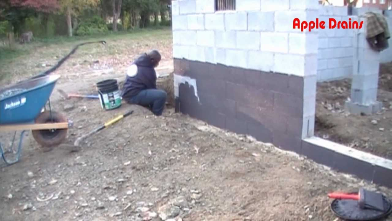D& Proofing - Waterproofing. Important steps to a dry foundation - YouTube & Damp Proofing - Waterproofing. Important steps to a dry foundation ...