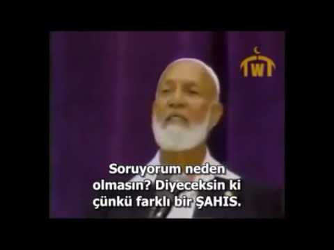 Ahmet Deedat : Kutsal Ruh İnanamalı mı İnsan.!