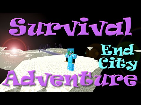 Minecraft | Survival Adventure | End City | SallyGreenGamer | Dollastic Plays
