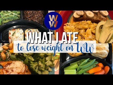 What I Ate to Lose Weight on WW Freestyle | Update!!