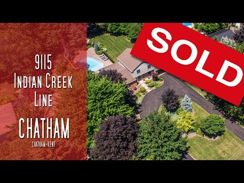 CHATHAM-KENT - 9115 Indian Creek Line - Chatham [propertyphotovideo]