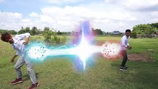 តោះប្លែកភ្នែកម្តង Video នេះជួបជាមួយ គង់ យូរ និង សិលា វាយគ្នាសាហាវណាស់ Super Power FX Test
