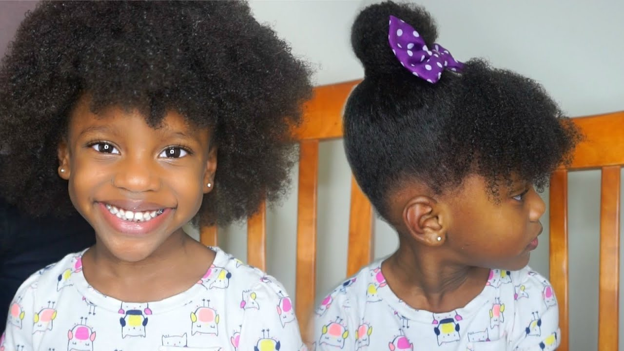 Toddler Natural Curly Hairstyles