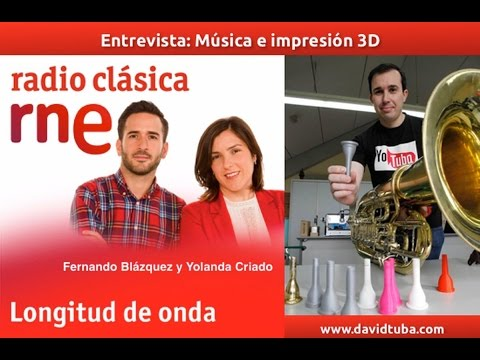 Entrevista Radio Nacional de España, Radio Clásica a David Muñoz