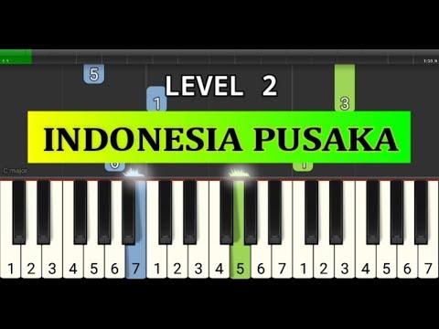 piano tutorial indonesia pusaka - lagu wajib nasional