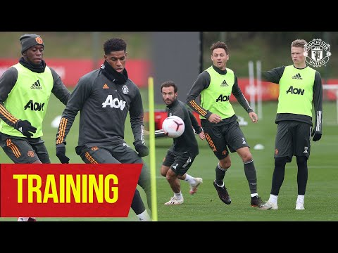 Training | United step up the intensity in training ahead of encounter against Newcastle