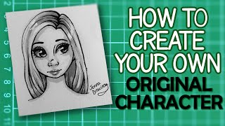 Concept Art Tutorial - Draw your own Female Original Character! | JennaDrawing