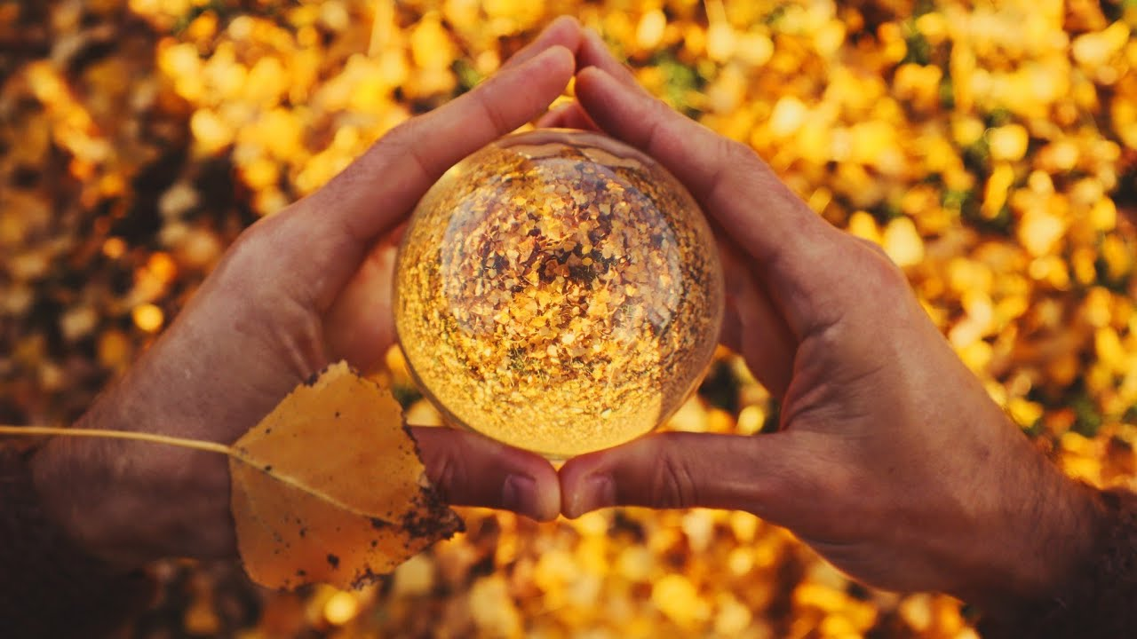 ContactBall in Fall - Meditation in Motion - Movement Medicine - Terence McKenna Dub Improvisation