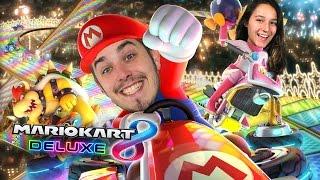 VINCENT VS EVA?! - Mario Kart 8 Deluxe