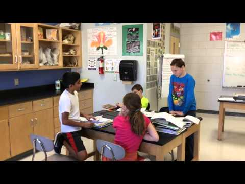 Polk County Middle students debate consumers