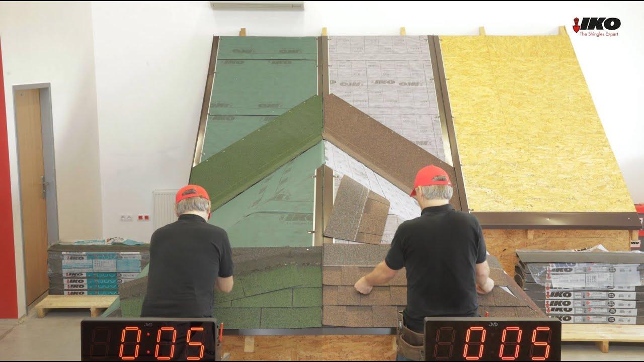 Comparison test shingles: 3TAB vs laminated shingles