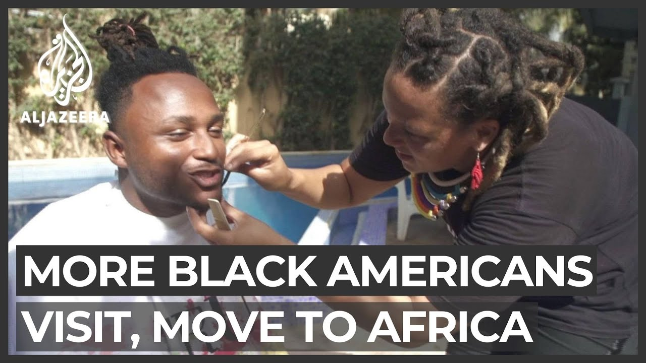 More Black Americans visiting, moving to Africa
