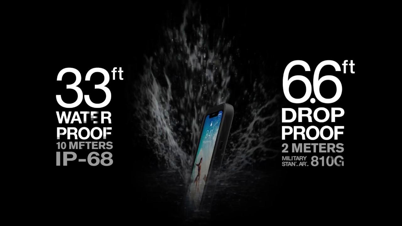 Catalyst IPhone X Waterproof Cover (Black) - Catalyst - Brands