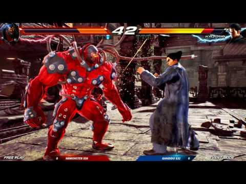 CEO 2016: Tekken 7 FR: Auction Tournament: N8Monster vs Gandido