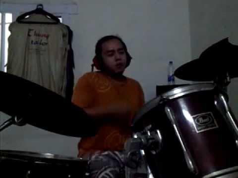 Adera - Lebih Indah (drum cover by Elroy Descarth).avi