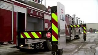 видео Пожарные металлические лестницы