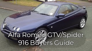 alfa Romeo GTV 916 buyers guide