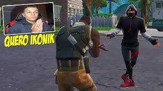 FINGI NOT HAVE SKIN ET WON THE IKONIK OF ALEATORIO AT FORTNITE