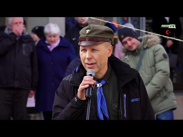 Uroczystość odsłonięcia tablicy płk Witolda Pileckiego