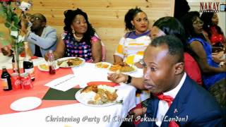 CHRISTENING PARTY + CHANEL POKUAA- LONDON-UK