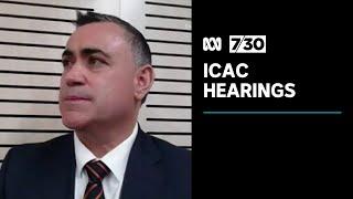 John Barilaro appears as witness at ICAC inquiry into Gladys Berejiklian | 7.30