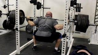 Jeremy Hamilton: Squat Training 02/12/13 Week 1
